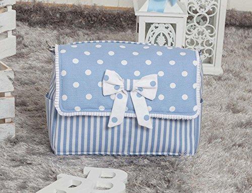 Babyline Carrusel - Bolso, color azul Azul