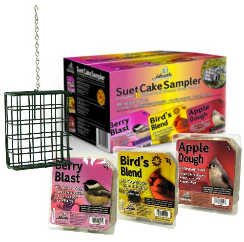 Heath Outdoor Products SCS-1 Suet Cake Assortment Pack, Case Of 11 Product Assortment
