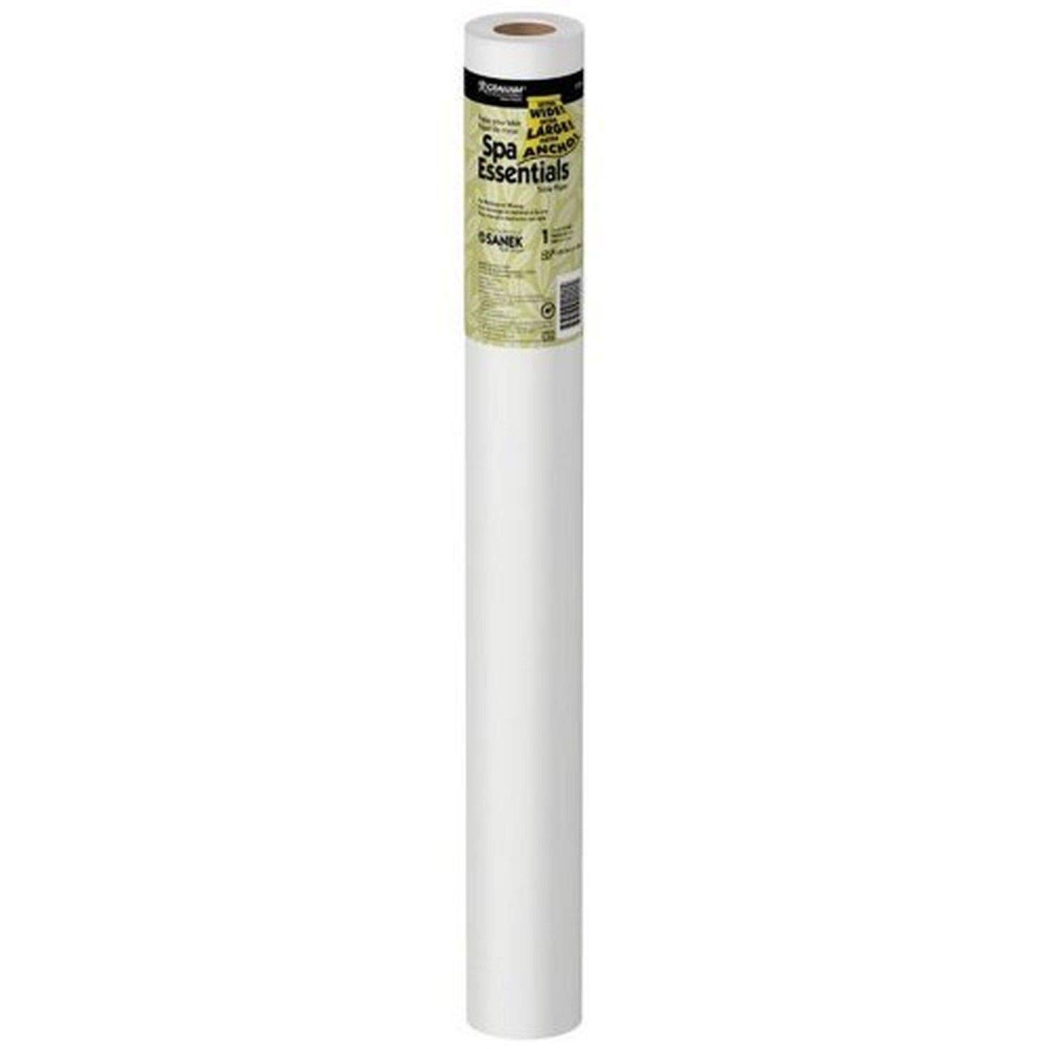 Graham Medical 51824 Spa Essentials Quality Table Paper, Smooth, 27'' Width, 225' Length, White (Pack of 12)