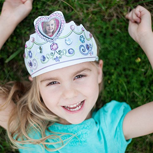 Color A Princess Tiara DIY Set (Each) - Party Supplies