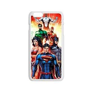Super Heros White iPhone 6 case