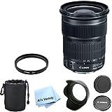 Canon EF 24-105mm f/3.5-5.6 IS STM Premium Lens Bundle (White Box)- International Model