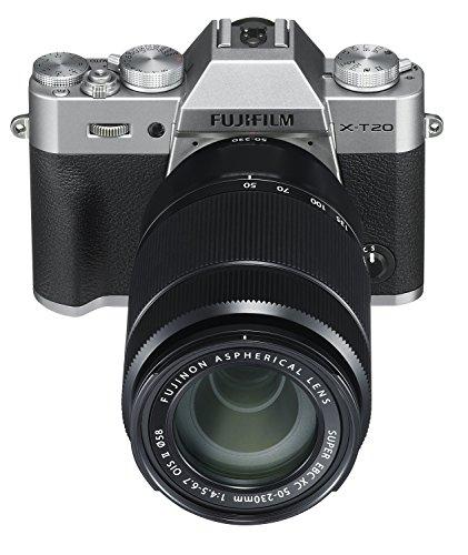 Fujifilm X Series X-T20 Mirrorless Digital Camera (Silver) 3