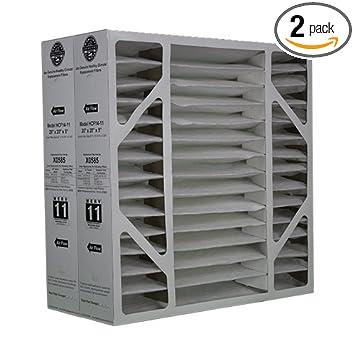 lennox model x0585 air cleaner filter media - 20 x 20 x 5 - air ...