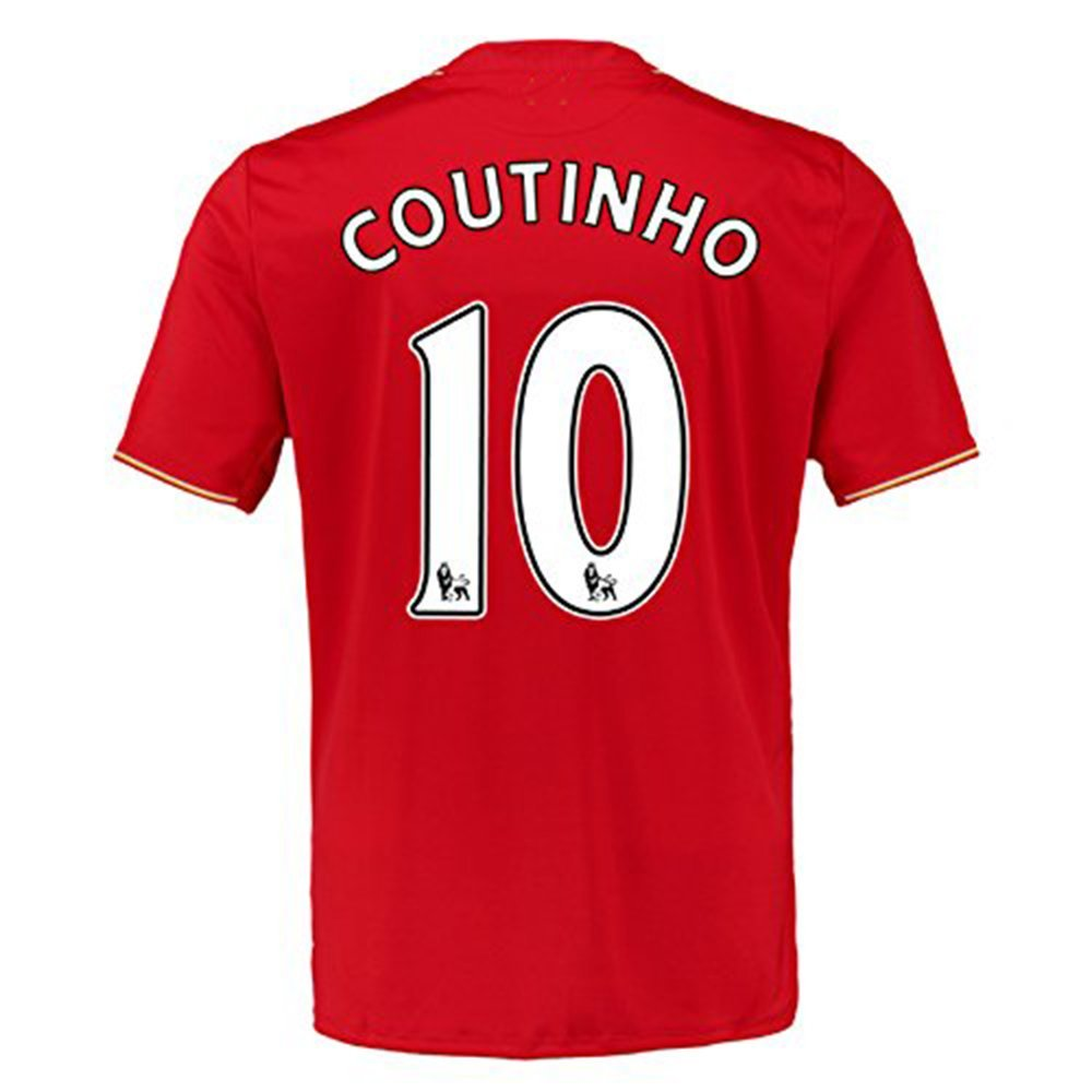 baf5fc5bb5b RBWISEG 2016 2017 UEFA England Premier League Liverpool FC 10 Philippe  Coutinho Home Football Soccer Jersey In Red