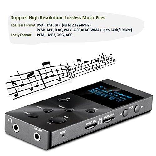 XDUOO X3 HIFI MP3 Player Lossless HD OLED Screen Music