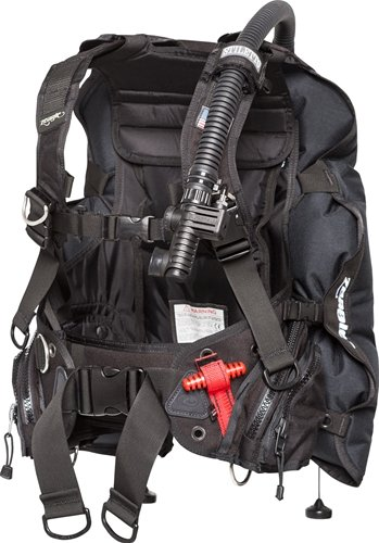 Ripcord Weight System - Zeagle Stiletto BCD with the Ripcord Weight System, Black, Medium