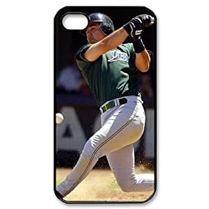 MLB iPhone 4,4S Black Tampa Bay Devil Rays cell phone cases&Gift Holiday&Christmas Gifts NADL7B8824920