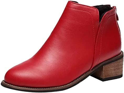 Shoes Thick Heel Lady Boots
