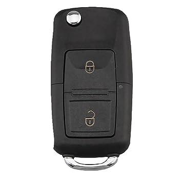 MonkeyJack Car Smart Remote key Keyless Entry Fob ID48 for Skoda Superb VW Seat Ibiza
