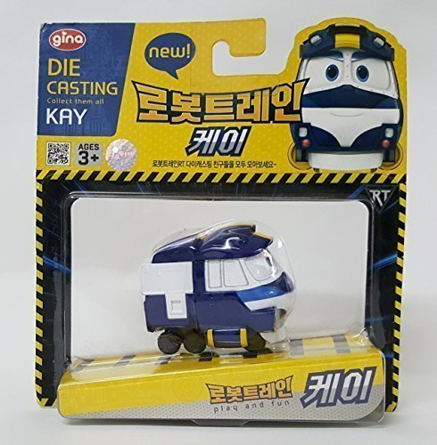Robot Train Korean TV Animation Diecasting Mini Robot Train Characters Toy For Kids Child  KAY  eileen