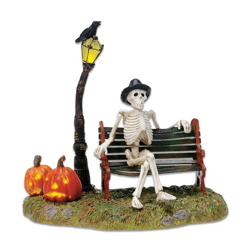 Halloween Decorations Village (Department 56 Village Resting My Bones)