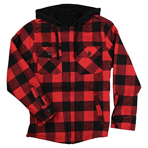 Plaid Flannel Jacket - 7
