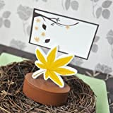 Leaf Place Card Favor Boxes with Designer Place Cards (set of 48)