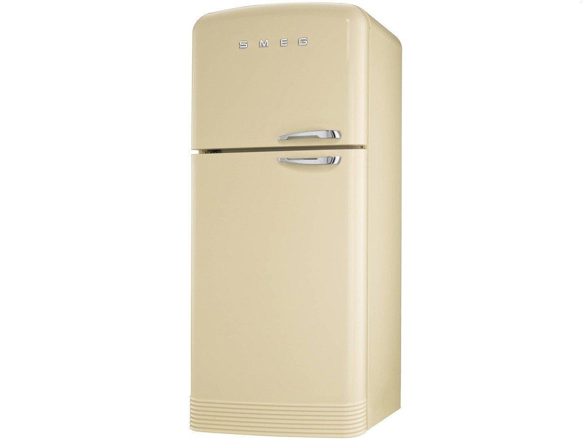 Smeg FAB50PS Freestanding 469L A+ Cream fridge-freezer - Fridge ...
