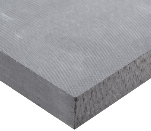 (Alumina Silicate Ceramic Sheet, Opaque Gray, 1-1/2