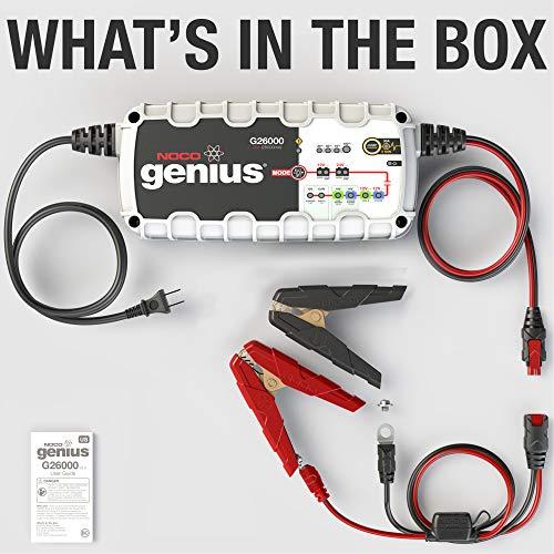 NOCO Genius G26000 12V/24V 26A Pro Series UltraSafe Smart Battery Charger