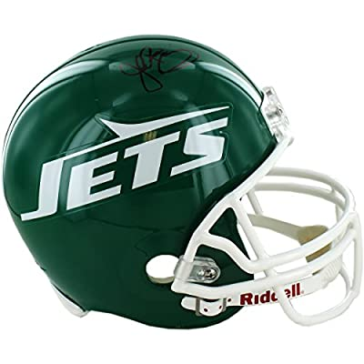 NFL New York Jets John Riggins Signed Replica Green Throwback 78-89 Helmet