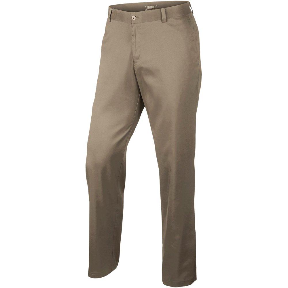 Kaki 42W   30L Nike Flat Front Pantalon Homme College Navy College