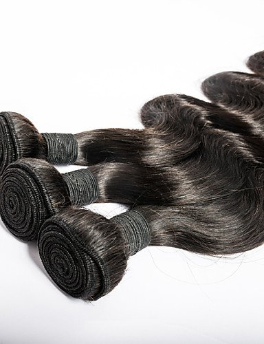 Lot natural 14 Jff Vierges Deal Total Qualité Peut 7a Naturelle Cheveux Corps Super 300 Supérieure Couleur De 14 Black Grammes Brésiliens Vague 3pcs q11n7R