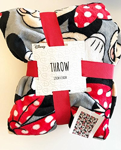 1fa32c428ae4 Mickey Minnie Mouse Disney Throw 125cm x 150cm Primark Blanket ...