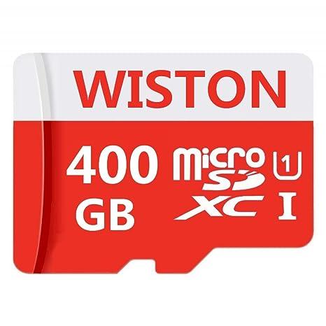 WISTON Micro SD Tarjeta 400 GB de Alta Velocidad Clase 10 ...