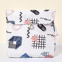 CHOUREN Girls Sanitary Bag Reusable Menstrual Pads Case Sanitary Pad Pouch Sanitary Napkin Storage Bag,Colors:Black…