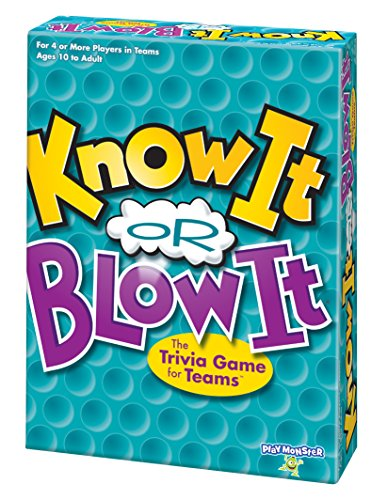 Know It or Blow It -