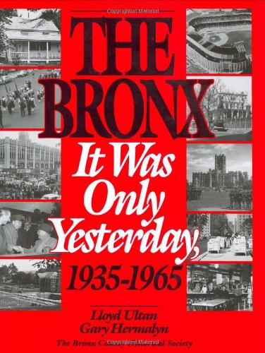 The Bronx: It Was Only Yesterday, 1935-1965 (Life in The Bronx - Outlet Rafael San