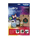 Brother ScanNCut CAPSKIT1 Printable Sticker Starter Kit