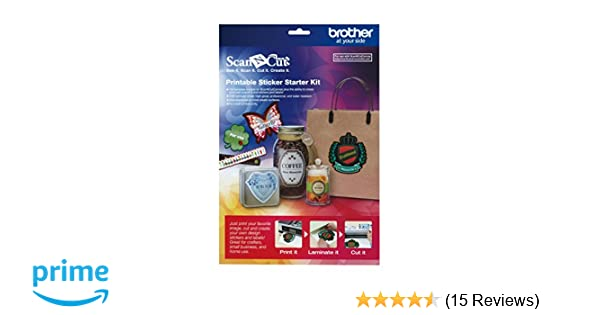 amazon com brother scanncut capskit1 printable sticker starter kit T Harness for Remote Starter