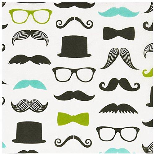 Little Man Mustache Party Supplies (BirthdayExpress Mustache Man Lunch Napkins)