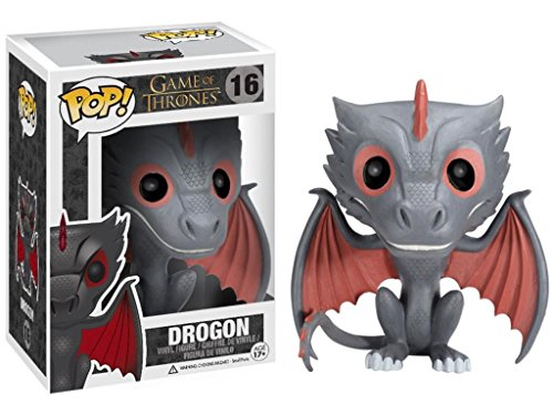 FunKo Pop Game of Thrones Drogon Vinyl Figure # 3873 Protective Case