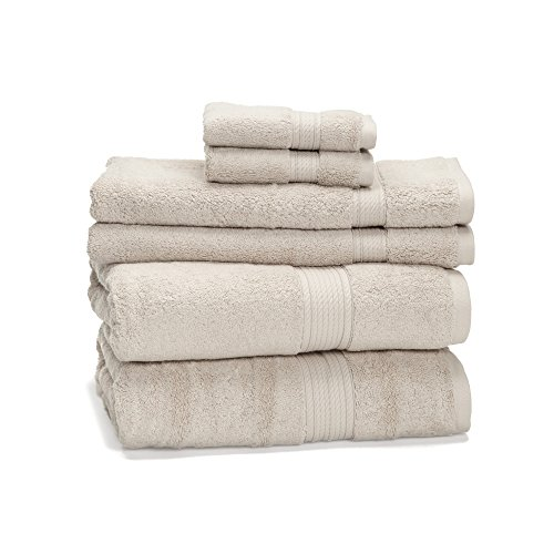 6 Piece Egyptian Cotton Towel ExceptionalSheets