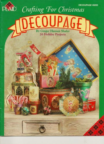 Decoupage Crafting for Christmas