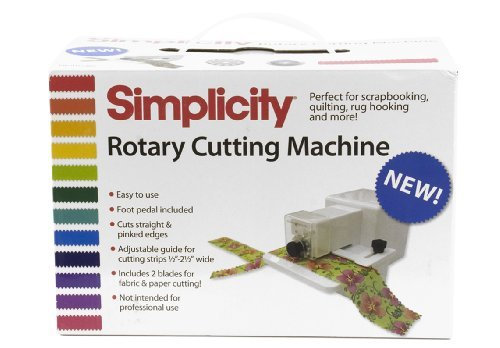 - Simplicity Rotary Cutting Machine by Simplicity Creative Group, Inc