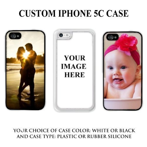Personalized Custom Picture * Quality Best Buy Single Custom iPhone 5C / iPhone 5C Rubber Case SUBMIT YOUR IMAGE PICTURE HERE by Unique Design - Options Shipping International Usps