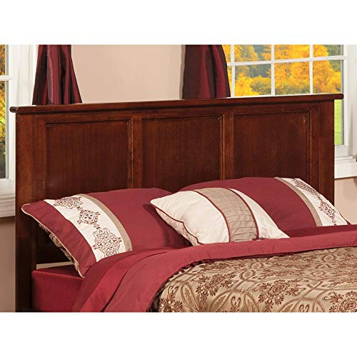 Atlantic Furniture Madison Headboard Full Walnut ()
