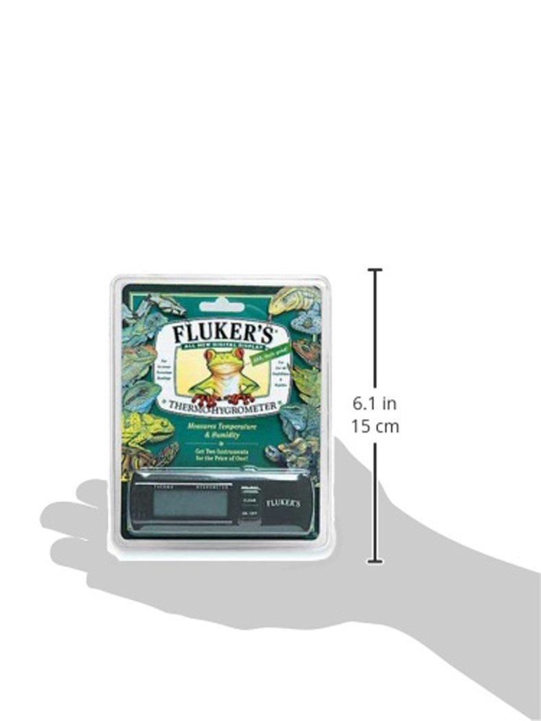 Fluker's Digital Thermometer/Hygrometer for Reptiles