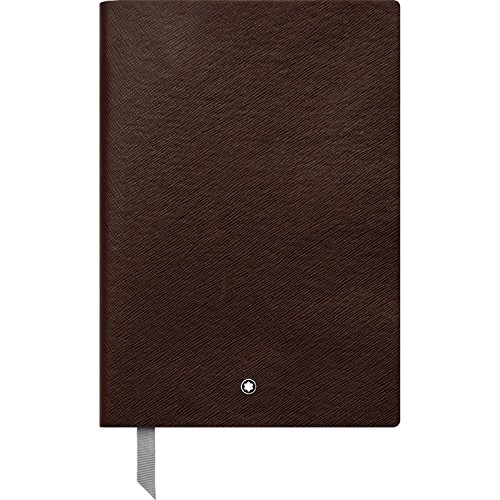 Montblanc Notebook Tobacco Lined #146 Fine Stationery 113590 – Elegant Journal with Leather Binding and Ruled Pages – 1 x (5.9 x 8.2 in.)