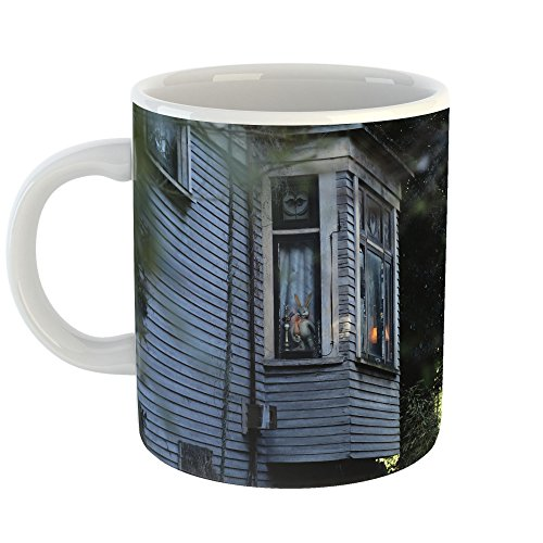 Window - 11oz Coffee Cup Mug - Modern Picture Photography Artwork Home Office Birthday Gift - 11 Ounce (EA8C-E9FC3) ()