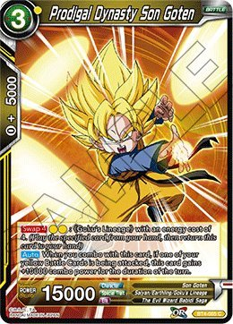 Dynasty Foils - Dragon Ball Super TCG - Prodigal Dynasty Son Goten (Foil) - BT4-085 - C - Series 4: Colossal Warfare