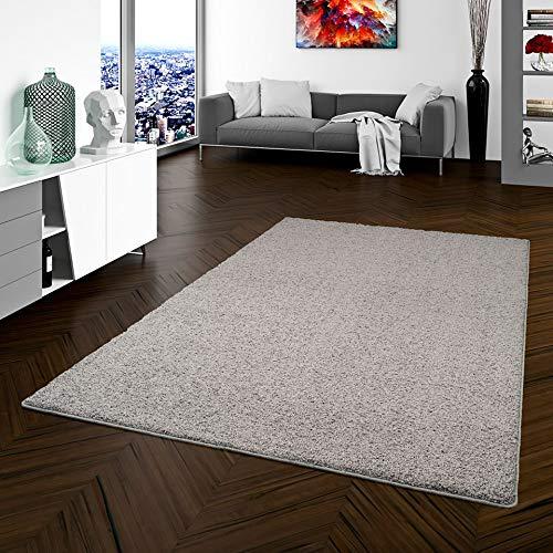Teppich Hochflor Shaggy Prestige Grau in 22 Größen, Größe 240x360 cm