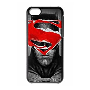 iPhone 5c Cell Phone Case Black al71 batman superman poster art film hero Cjnsf