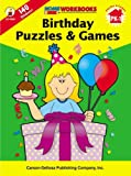 Birthday Puzzles and Games, Carson-Dellosa Publishing Staff, 0887246982