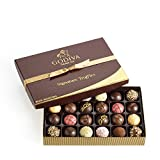 Godiva Chocolatier Signature Chocolate Truffles Gift Box, Classic, 24 Piece