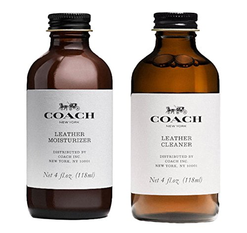Coach Leather Handbag Moisturizer & Cleaner Set 68123&68147
