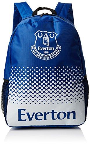 Everton FC Offizielles verblasst Crest Design Fußball Rucksack/Rucksack Blau / Weiß