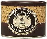 Taza Chocolate 70% Dark Organic Semi Sweet Baking Squares 8 oz.