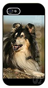 iPhone 5C Happiness - black plastic case / dog, animals, dogs
